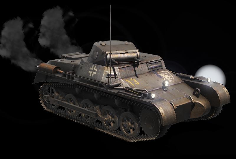 Panzer Ia | Tyranthrax - 387.4KB
